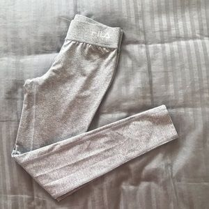 NOWT Fila grey yoga leggings size Xs